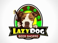 Lazy Dog Beer Shoppe Logo - Entry #18