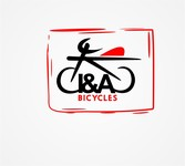 i & a Bicycles Logo - Entry #87