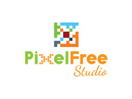 PixelFree Studio Logo - Entry #14