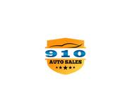 910 Auto Sales Logo - Entry #18