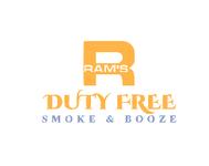 Rams Duty Free + Smoke & Booze Logo - Entry #88