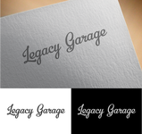 LEGACY GARAGE Logo - Entry #173