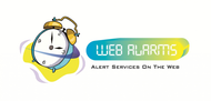 Logo for WebAlarms - Alert services on the web - Entry #201