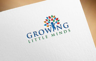 Growing Little Minds Early Learning Center or Growing Little Minds Logo - Entry #37
