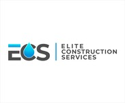 Elite Construction Services or ECS Logo - Entry #4