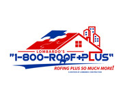 1-800-Roof-Plus Logo - Entry #65