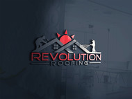 Revolution Roofing Logo - Entry #398