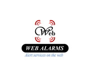 Logo for WebAlarms - Alert services on the web - Entry #202