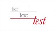 TicTacTest Logo - Entry #15