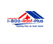 1-800-Roof-Plus Logo - Entry #123