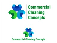 Commercial Cleaning Concepts Logo - Entry #34