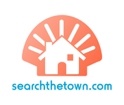 search the town .com     or     djsheil.com Logo - Entry #40