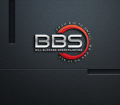Bill Blokker Spraypainting Logo - Entry #56