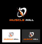 Muscle MIll Logo - Entry #9