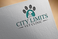 City Limits Vet Clinic Logo - Entry #103