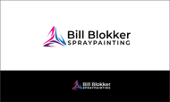 Bill Blokker Spraypainting Logo - Entry #147