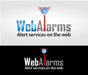 Logo for WebAlarms - Alert services on the web - Entry #48