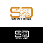 Shepherd Drywall Logo - Entry #352
