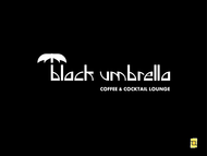 Black umbrella coffee & cocktail lounge Logo - Entry #28