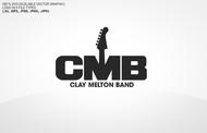 Clay Melton Band Logo - Entry #116