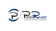 Pixel River Logo - Online Marketing Agency - Entry #146
