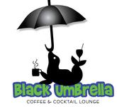 Black umbrella coffee & cocktail lounge Logo - Entry #51