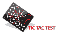 TicTacTest Logo - Entry #100