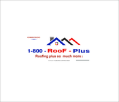 1-800-Roof-Plus Logo - Entry #119