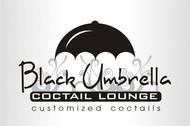 Black umbrella coffee & cocktail lounge Logo - Entry #177