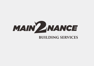 MAIN2NANCE BUILDING SERVICES Logo - Entry #19