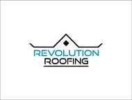 Revolution Roofing Logo - Entry #506
