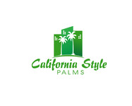 California Style Palms Logo - Entry #24