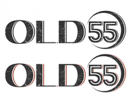 """""""OLD 55"""" - mid-century vintage furniture and wares store Logo - Entry #109"""