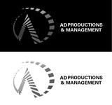 Corporate Logo Design 'AD Productions & Management' - Entry #121