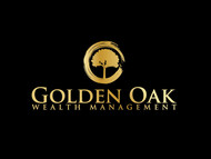 Golden Oak Wealth Management Logo - Entry #24