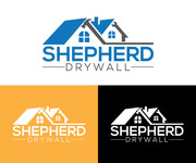 Shepherd Drywall Logo - Entry #196