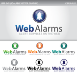Logo for WebAlarms - Alert services on the web - Entry #10