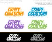 Crispy Creations logo - Entry #69