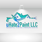 uHate2Paint LLC Logo - Entry #154