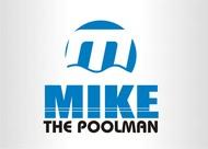 Mike the Poolman  Logo - Entry #128