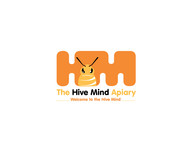 The Hive Mind Apiary Logo - Entry #130