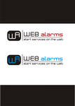 Logo for WebAlarms - Alert services on the web - Entry #26