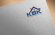 KBK constructions Logo - Entry #47
