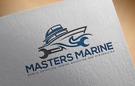 Masters Marine Logo - Entry #228