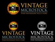 Vintage Microstock Logo - Entry #86