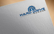 Hard drive garage Logo - Entry #140