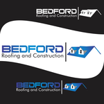 Bedford Roofing and Construction Logo - Entry #43