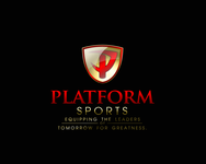"Platform Sports "" Equipping the leaders of tomorrow for Greatness."" Logo - Entry #48"