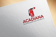Acadiana Fire Extinguisher Sales and Service Logo - Entry #151