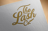 the lash co. Logo - Entry #124